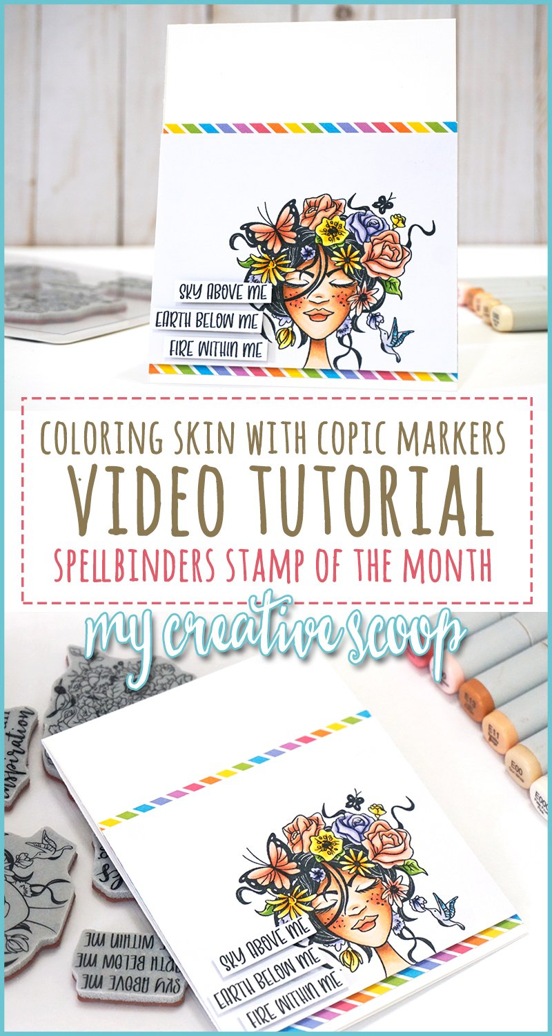 How to color Skin with Copic Markers - Video Tutorial • My