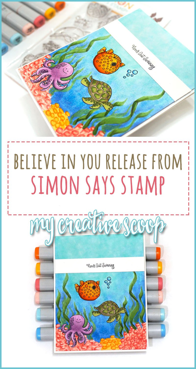 Simon Says Stamp Believe in You Release