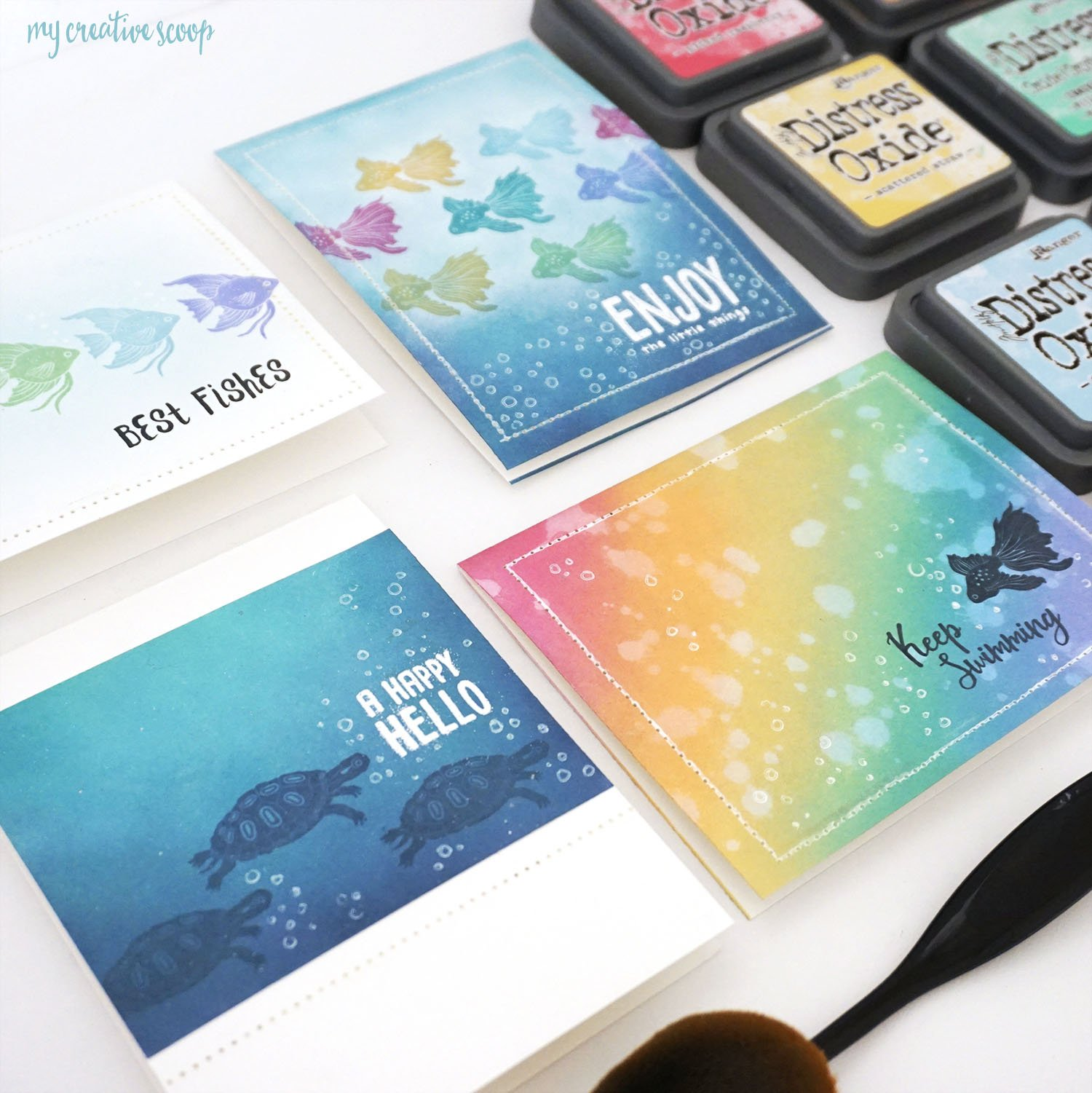 Spellbinders July Stamp of the Month