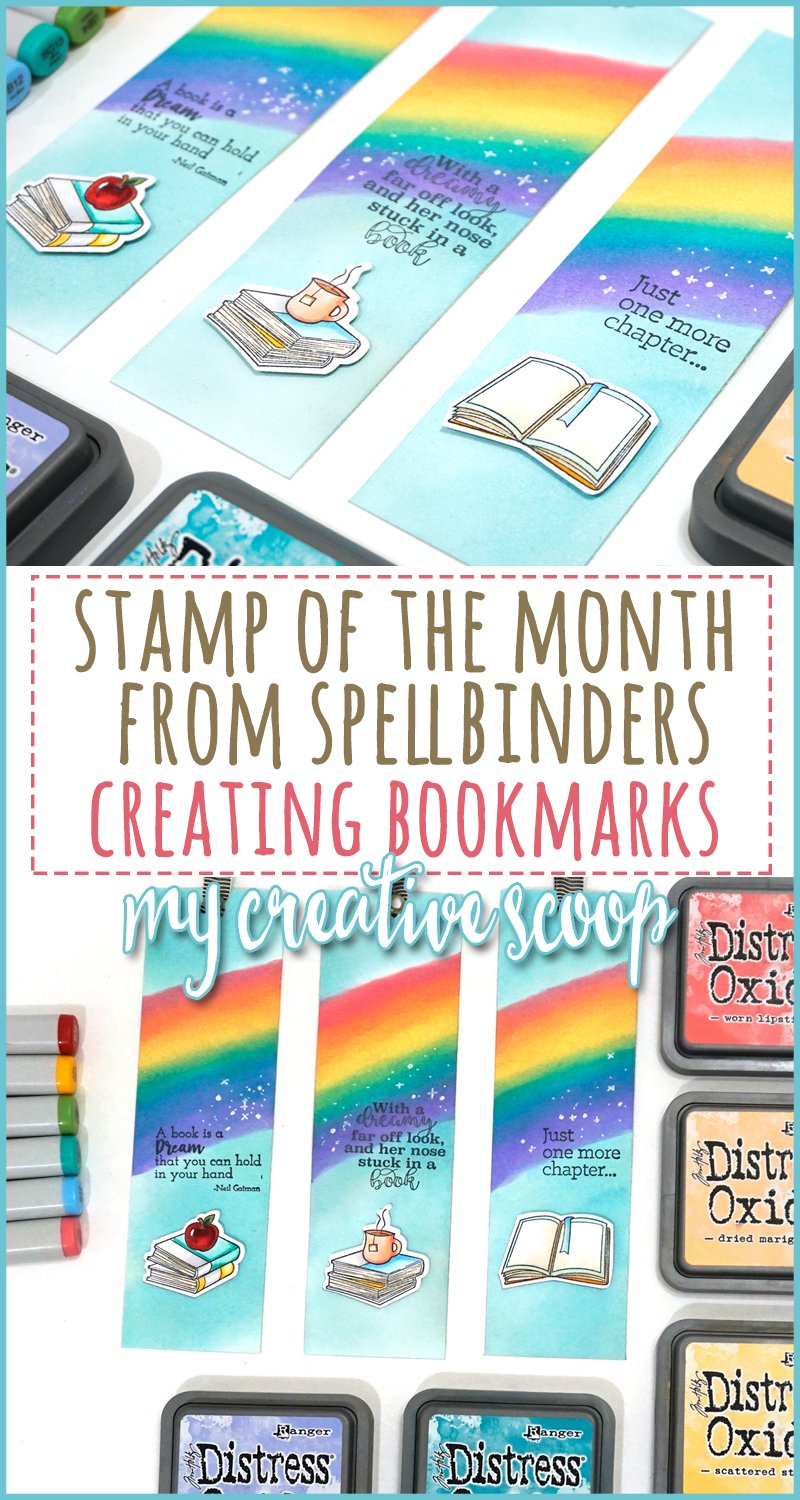 Spellbinders Stamp of the Month - August