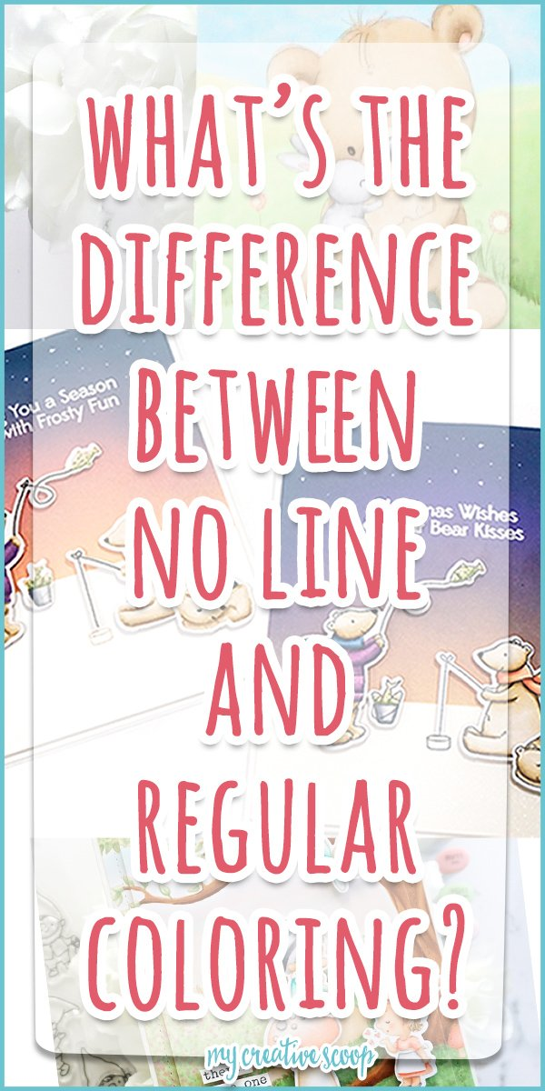 What's the difference between no-line coloring and regular coloring?