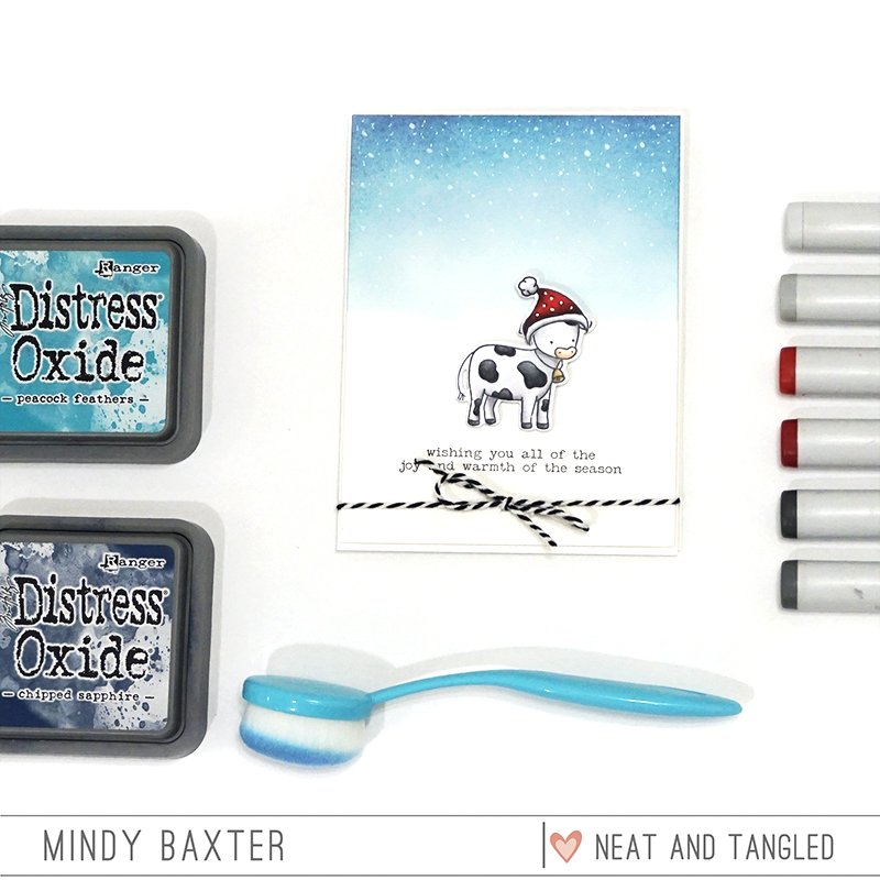 Mix and Match your Stamps Sets to Create Holiday Cards + Copic Tutorial