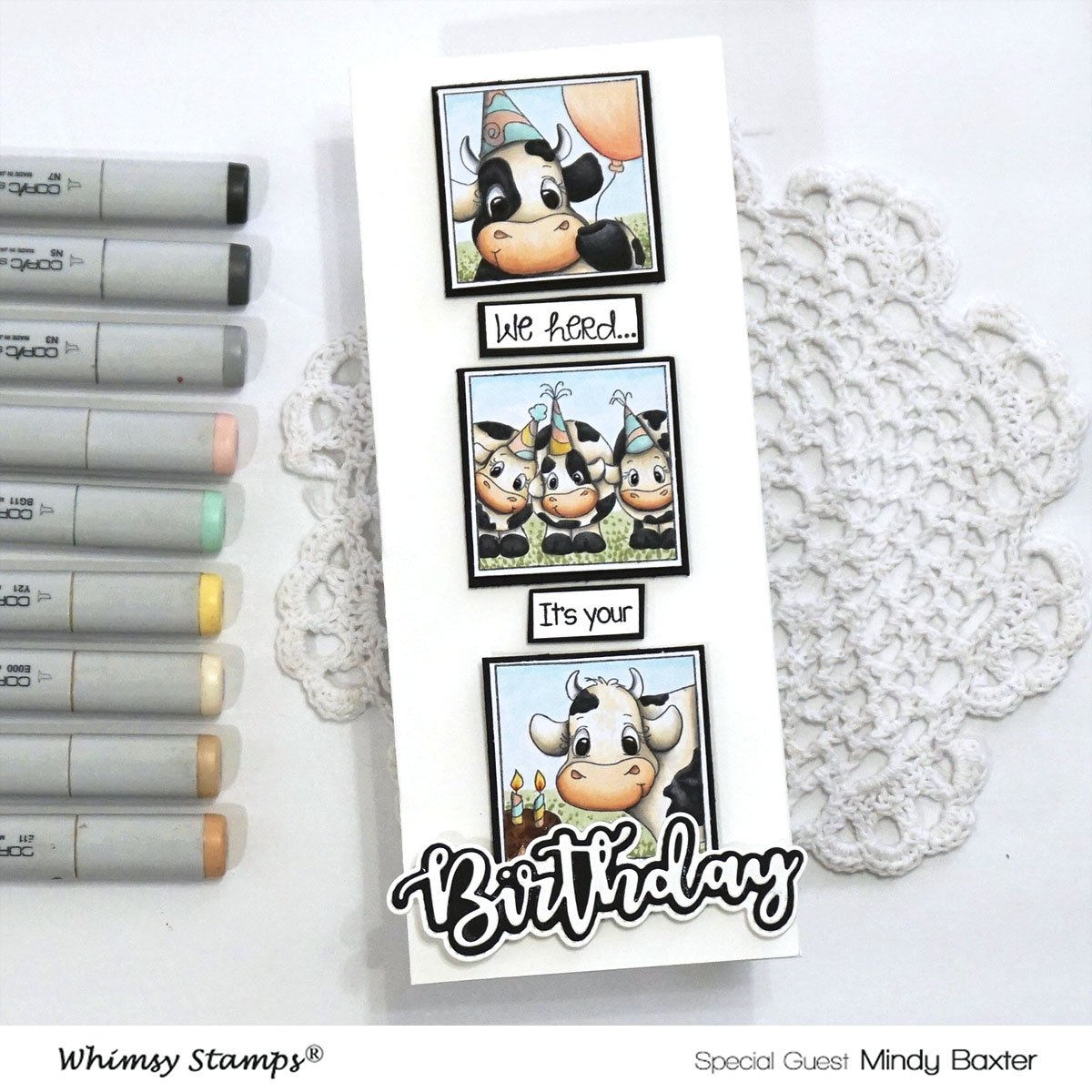 What Copic Markers to use to Color a Cow