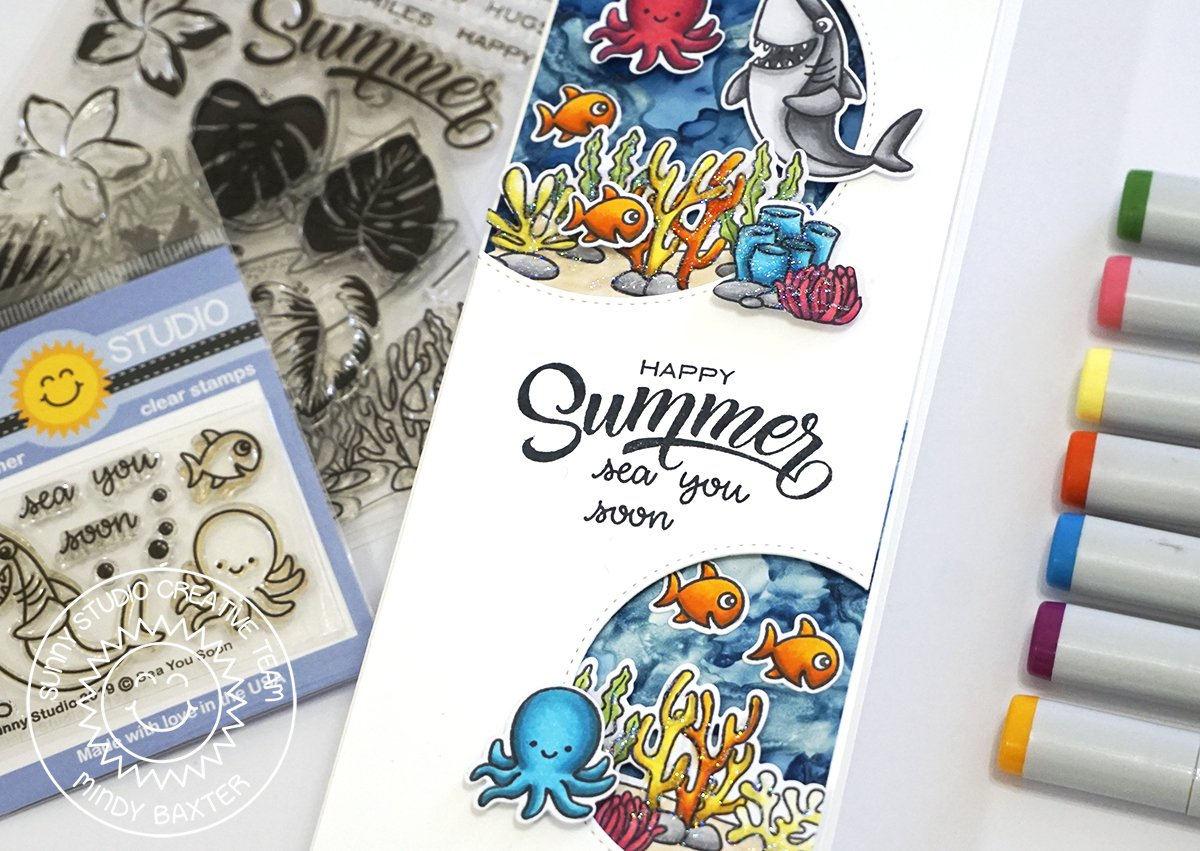 12 Summer Copic Marker Cards to get you motivated to create!