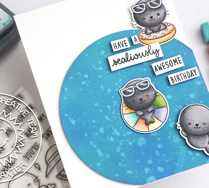 Copic Coloring plus Floating Image Video Tutorial