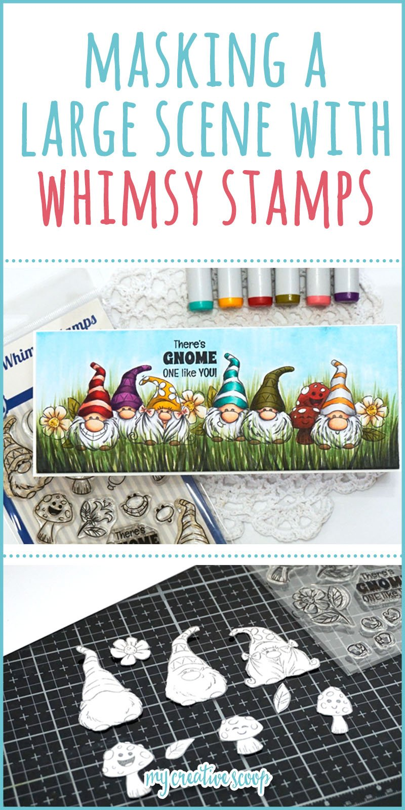 Create a Scene and Masking with Stamps