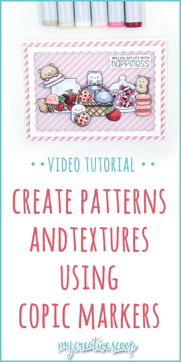 Creating Patterns and Textures with Copic Markers