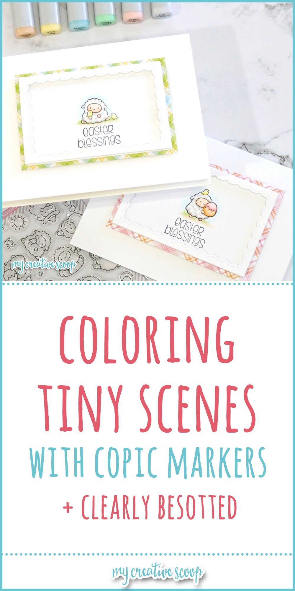 Coloring Tiny Scenes with Copic Markers