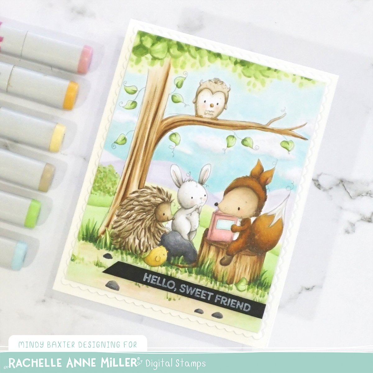 Copic Marker Color Combos Animals