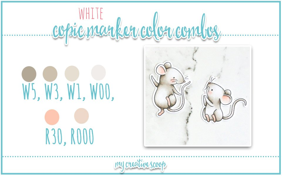 Coloring White with Copic Markers + Emboss Resist