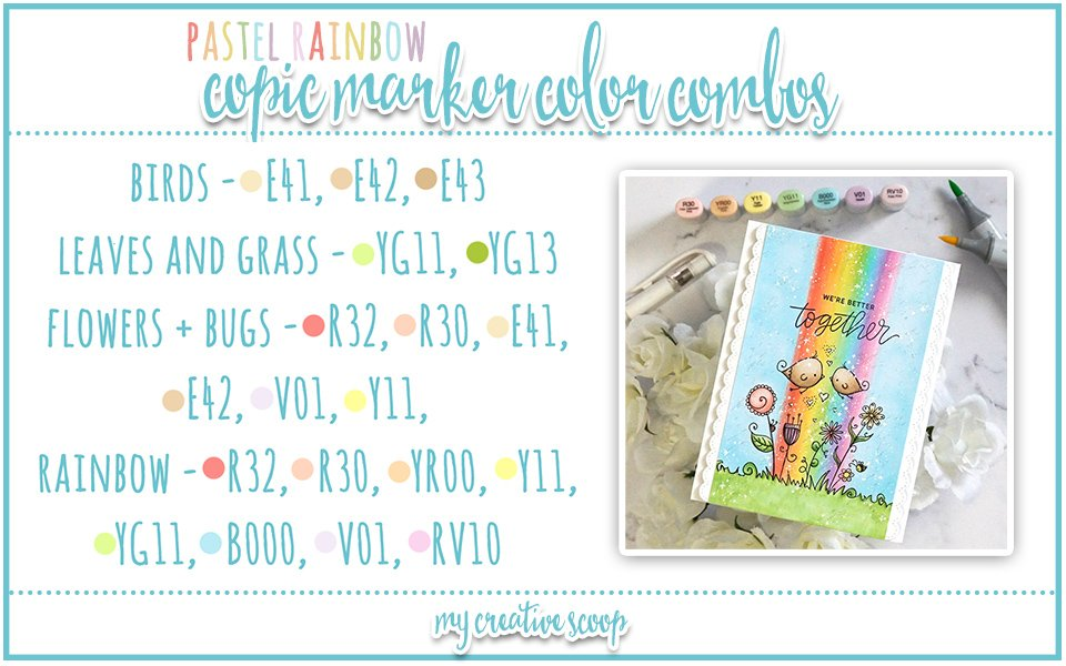 How to Blend a Rainbow with Copic Markers + 5 Rainbow Copic Color Combos