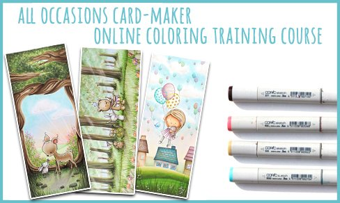 All Occasions Card-Maker Copic Marker Training Course