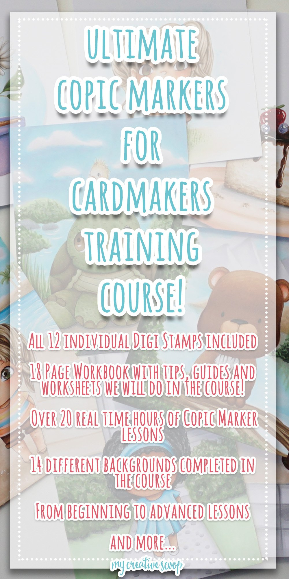 Online Copic Markers for Card-makers Training Course